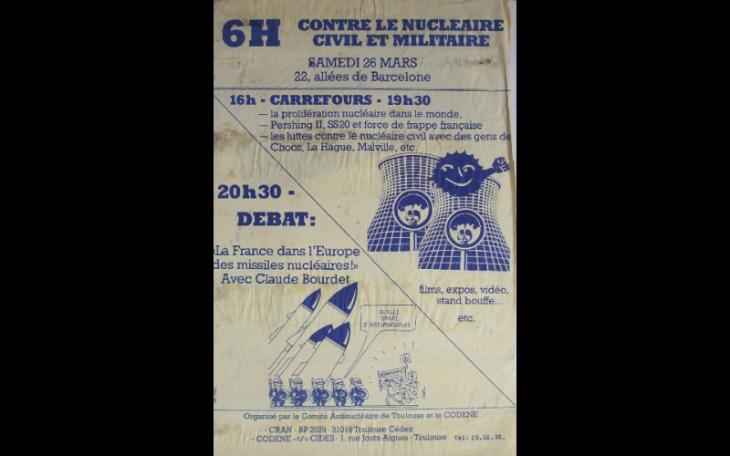 1983 (mars) - Toulouse - 6h contre nucleaire - F45x60