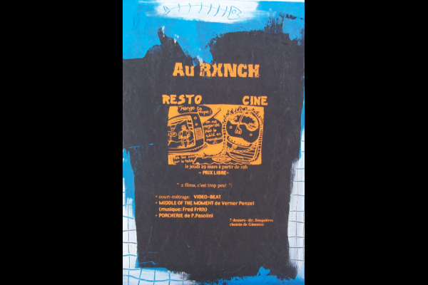 affiche squat le Ranch, Toulouse