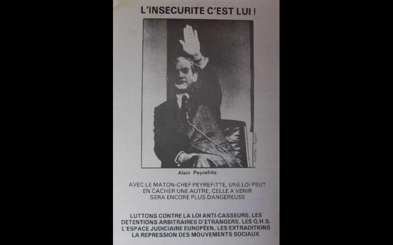 affiche anti-Peyreffite