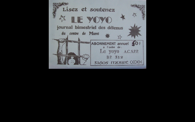 affiche journal yoyo, Toulouse