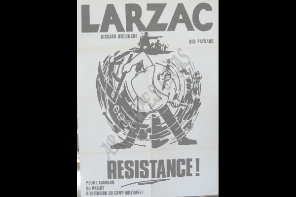 affiche larzac resistance 2
