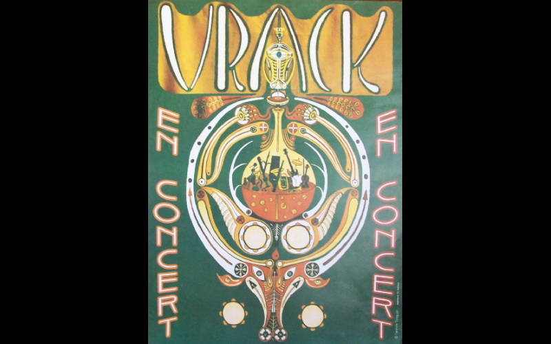 affiche groupe Vrack, Toulouse