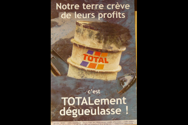 affiche Total-Erika, AAEL, 2000