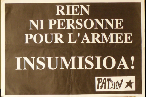 affiche insoumission Pays Basque