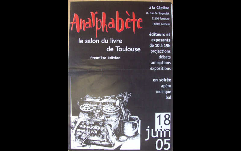 anarphabête, AAEL, Toulouse, 2005