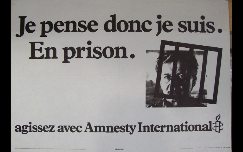 affiche prison, amnesty international, Toulouse