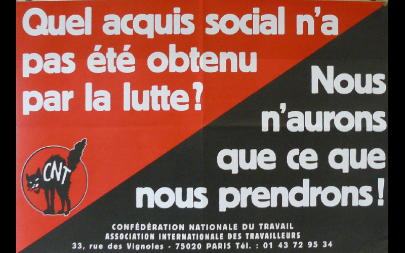 affiches CNT, Paris