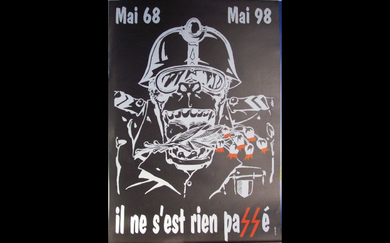 affiche mai 68, AAEL, Toulouse, 1998