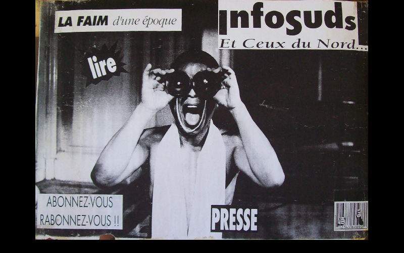 affiche journal Infosuds, Toulouse