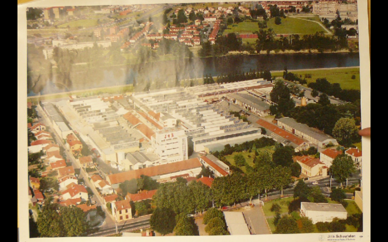 affiche usine Job Toulouse