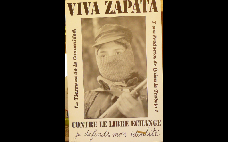 affiche viva Zapata, AAEL, Toulouse