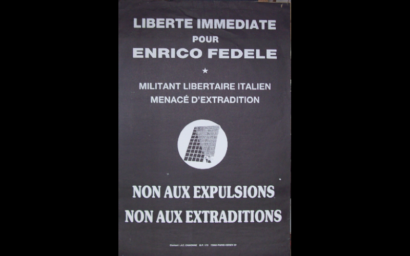 extradition enrico Fidele, 45 x 60