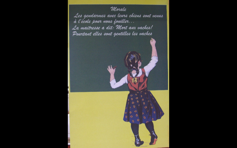 affiche morale, AAEL, Toulouse, 2009, 45x60