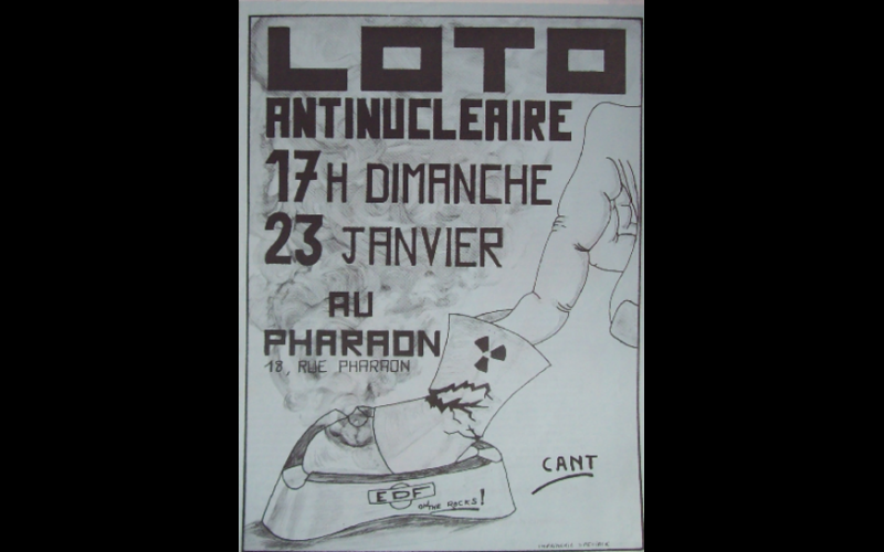 1983 (janvier) - Loto antinucleaire CANT